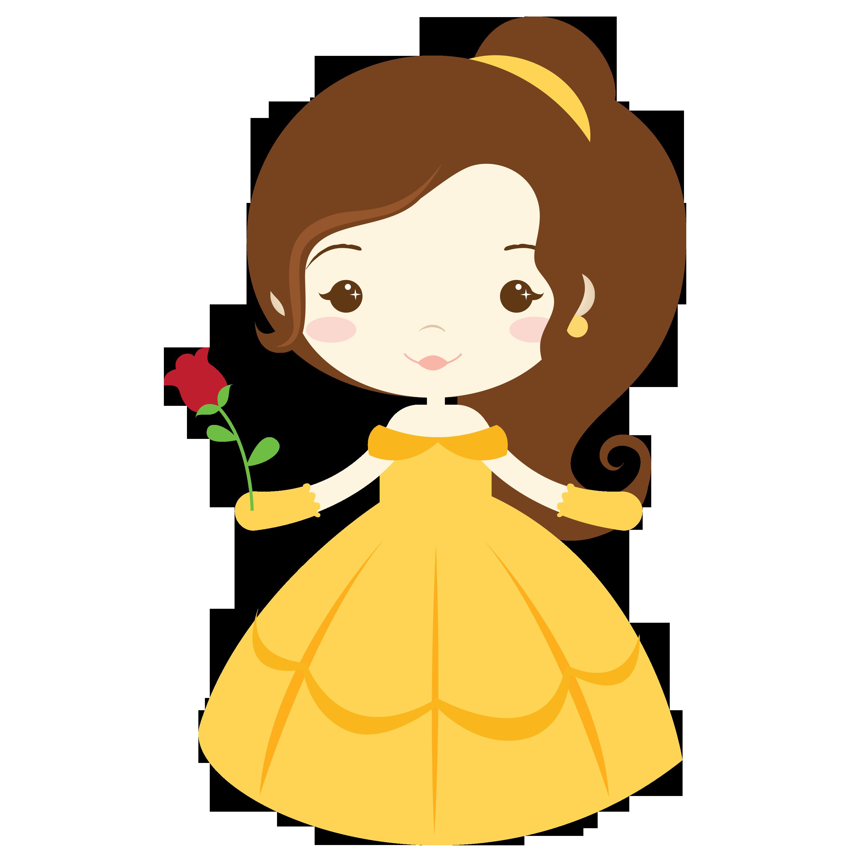 Resultado de imagen para baby disney princesas clipart.