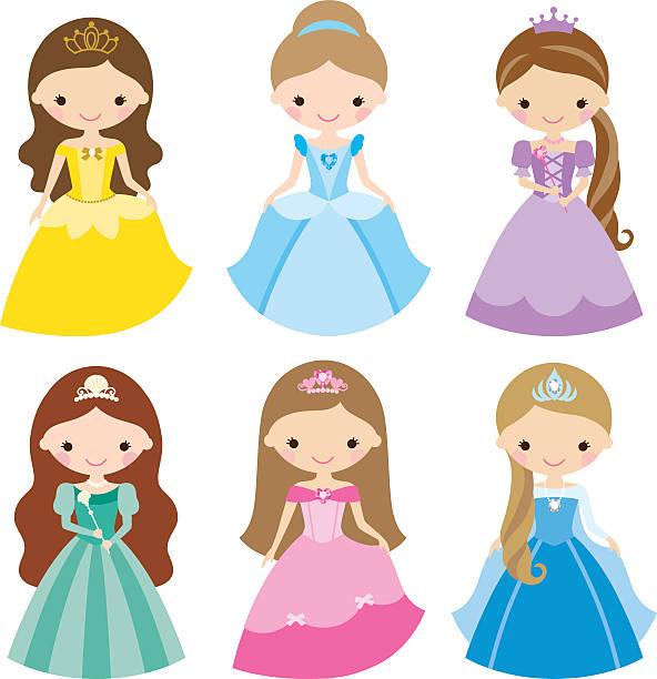 Best Princess Illustrations, Royalty.