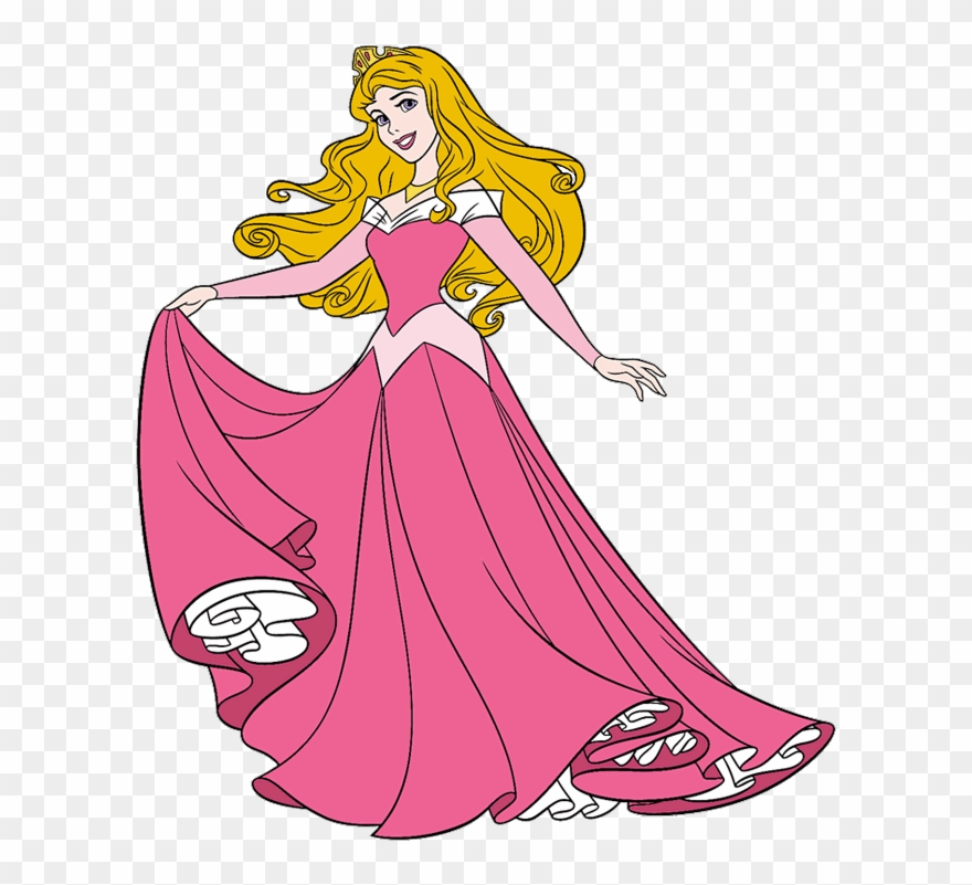 Sleeping Beauty Clip Art.