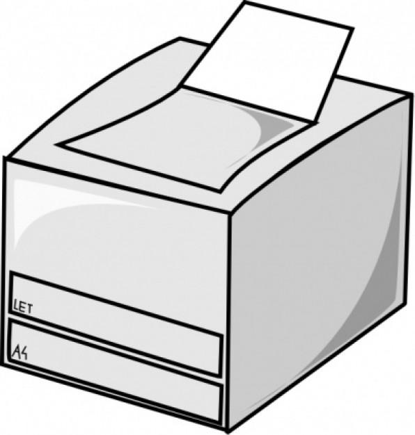 25+ Printer Clip Art.