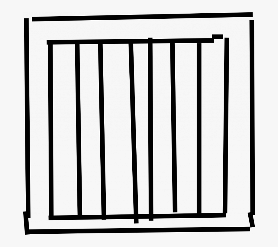 Download Easy Jail Bars Clipart.