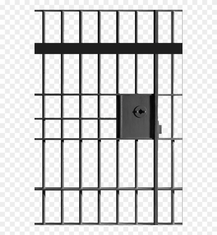 Clipart Of Bars, Prison And Jail.
