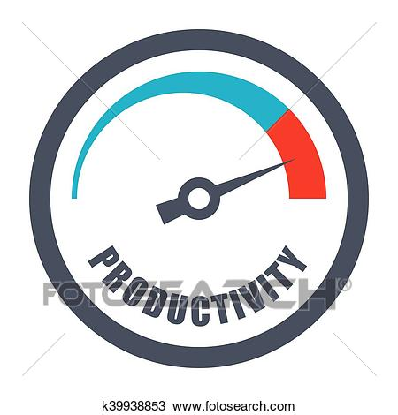 Increase Productivity Concept Clipart.