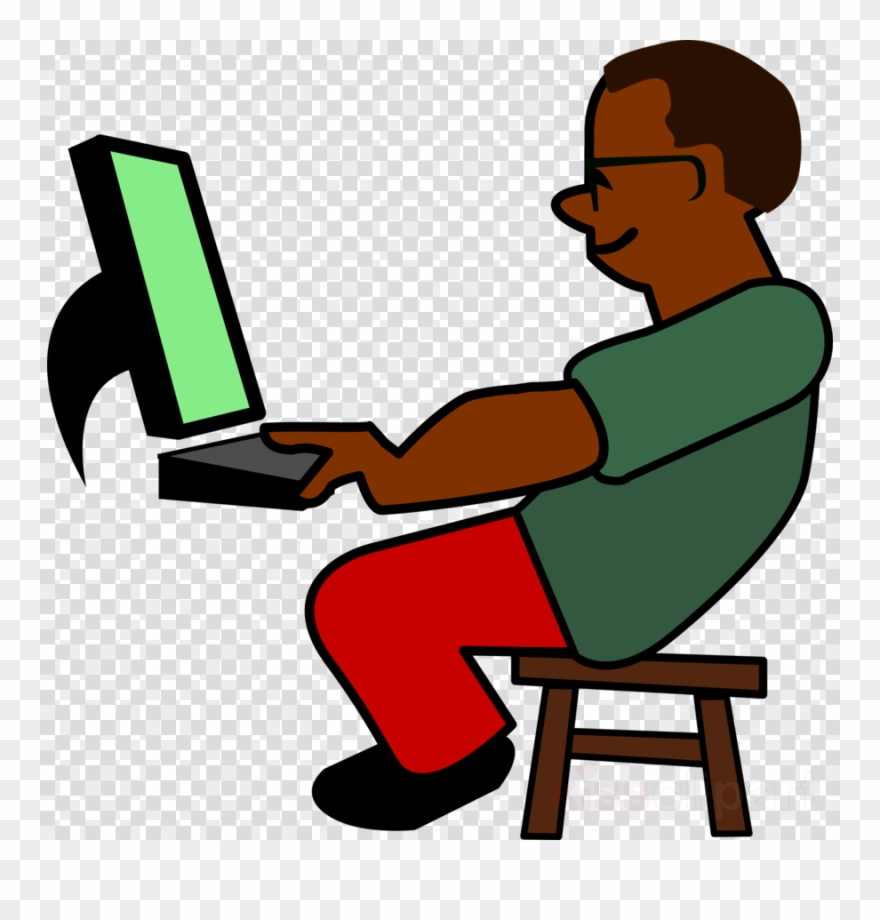 Download Programming Clip Art Clipart Programmer Computer.