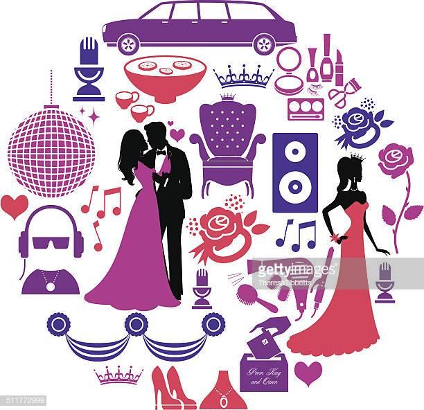 60 Top Prom Stock Illustrations, Clip art, Cartoons, & Icons.
