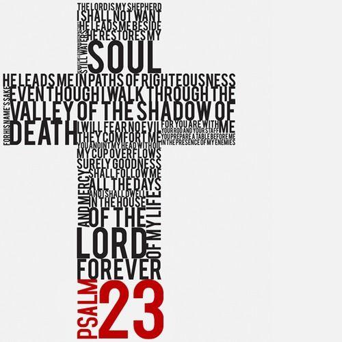 Psalm 23 clip art.