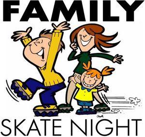 Family Skate Night Clipart PTO Clip Art Pinterest.