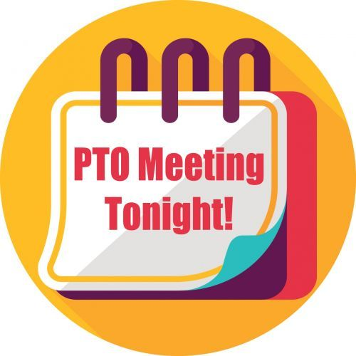 Fun clipart to promote PTO meetings..