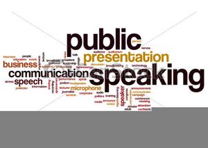 Public Speaking Clipart.