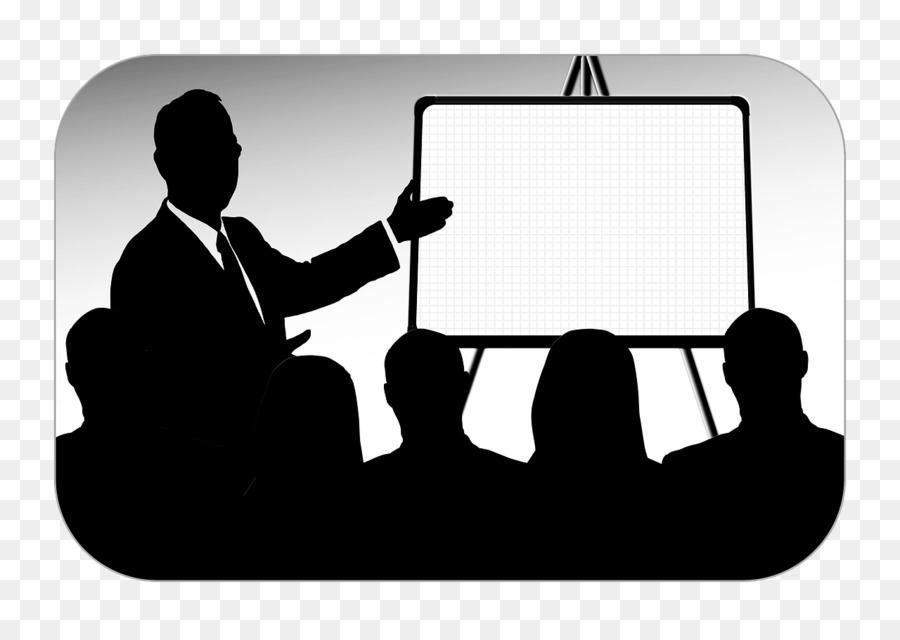 Public Speaking Silhouette png download.