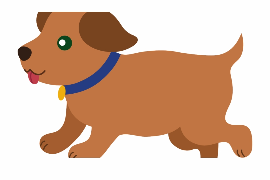 Cute Puppy Dog Clip Art.