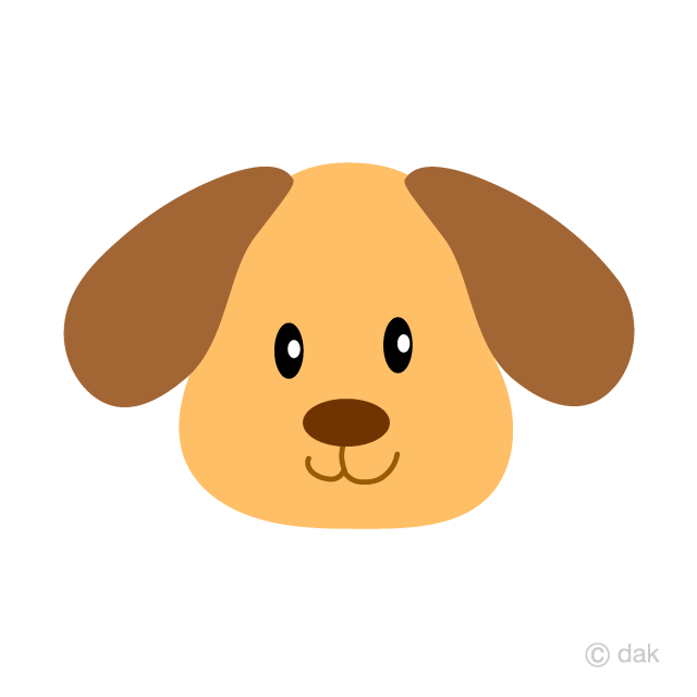 Puppy Face Clipart Free Picture|Illustoon.