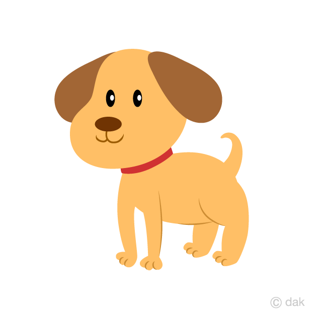Puppy Clipart Free Picture|Illustoon.