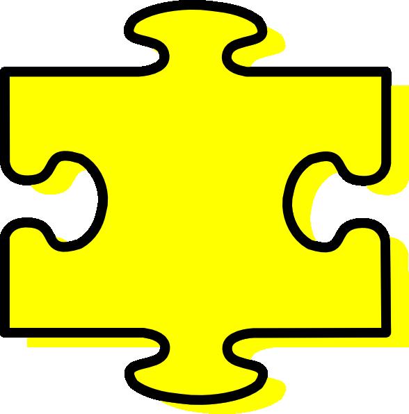 Yellow Piece Clip Art.
