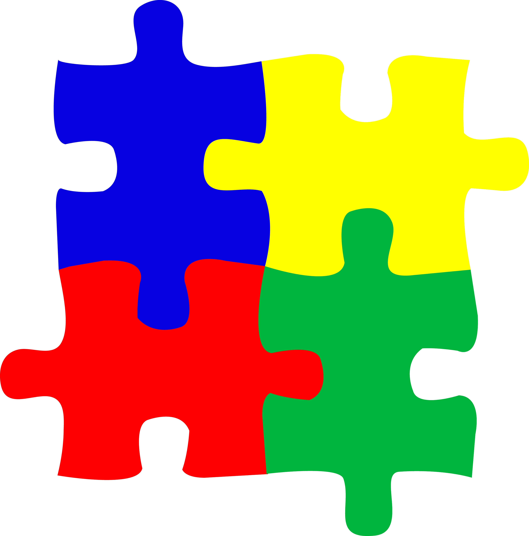 Autism Puzzle Piece Clip Art N16 free image.