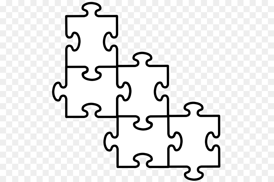 Jigsaw Puzzle Square png download.