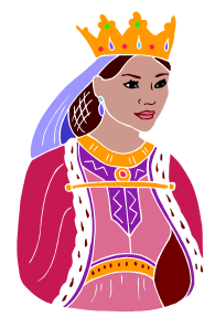 queen esther clipart.