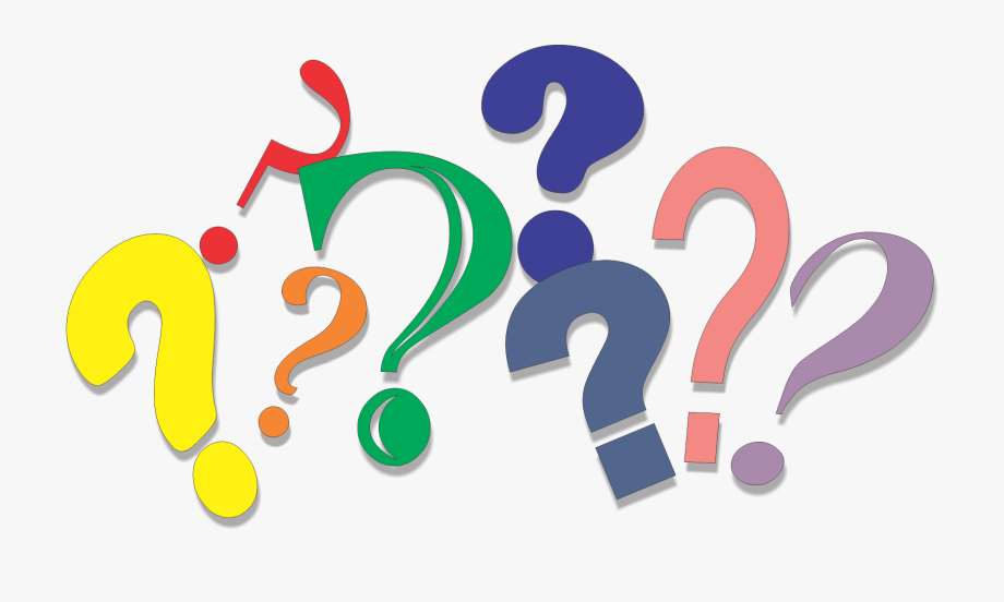 Transparent Question Mark Clipart.