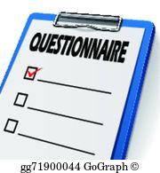 Questionnaire Clip Art.