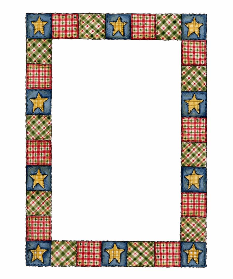 Clip Art Quilt Borders Free PNG Images & Clipart Download #3884944.
