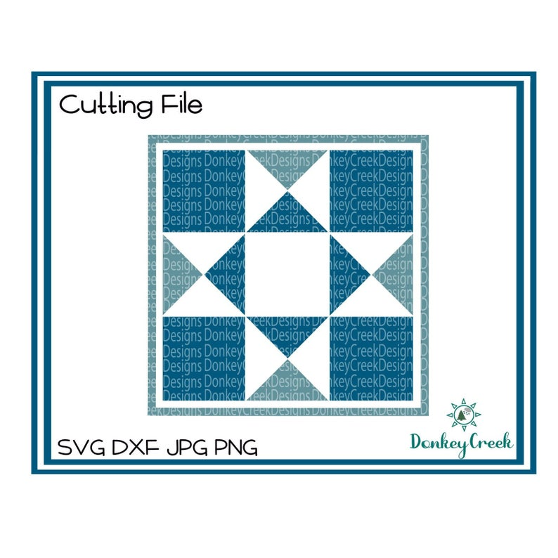 Barn quilt SVG quilt square svg silhouette cricut cutting file quilt clip  art quilt block svg printable home decor.