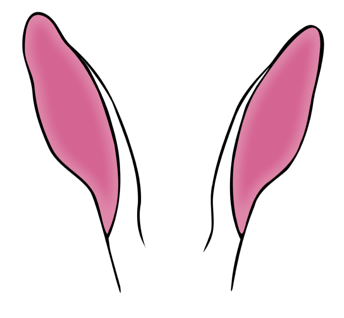 Rabbit Ears clipart! FREE.
