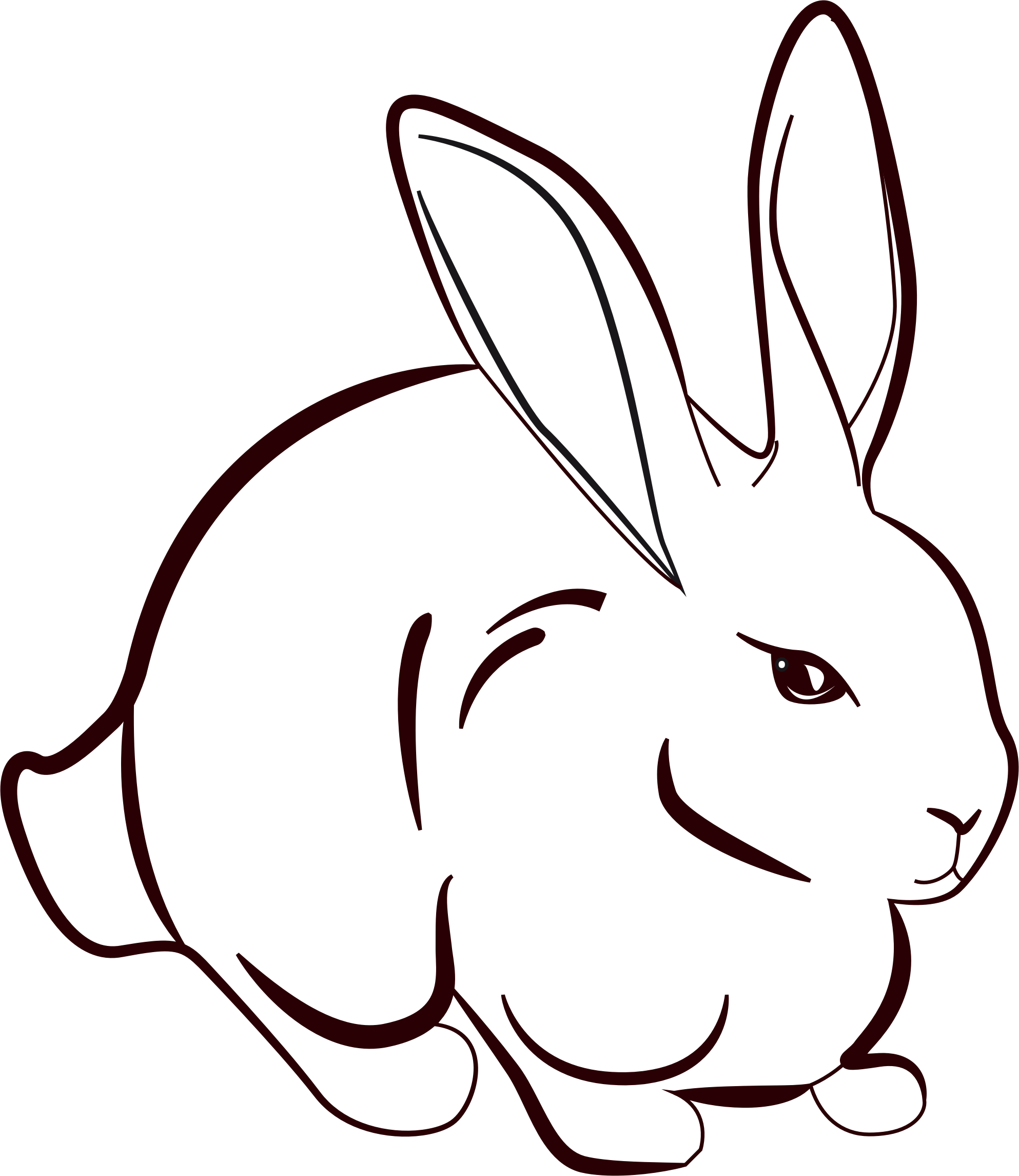 Rabbit Line Art Group with 59+ items.