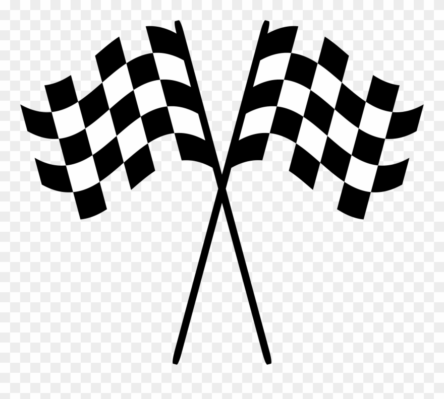 Race Flag No Background Clipart (#3345).