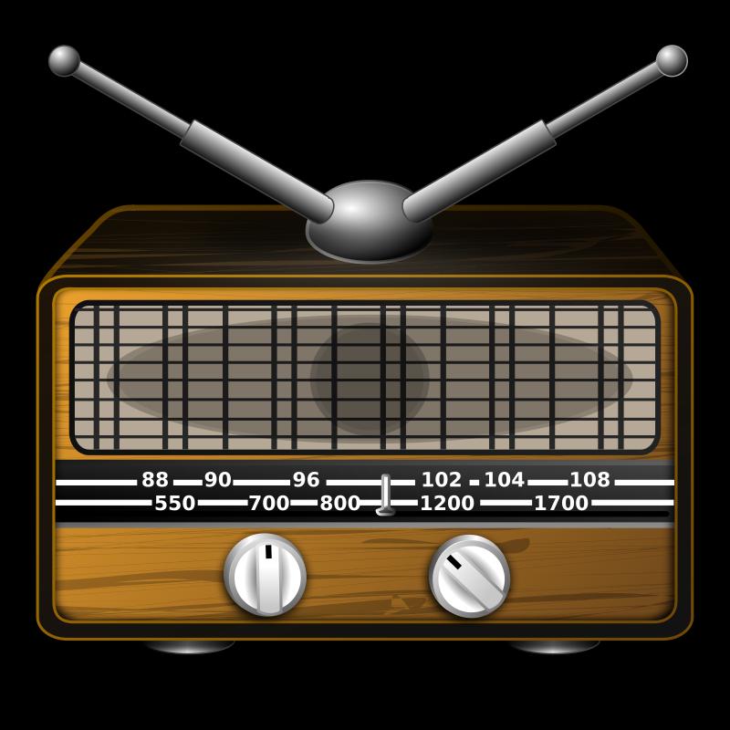 Free Clipart: Radio.