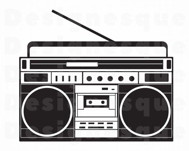 Radio SVG, Boombox Svg, Radio Clipart, Radio Files for Cricut, Radio Cut  Files For Silhouette, Radio Dxf, Radio Png, Radio Eps, Radio Vector.