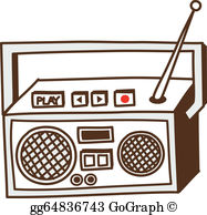 Radio Clip Art.