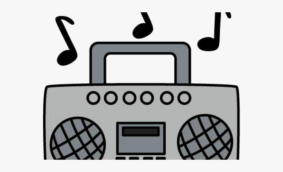 Radio Clipart Boombox.