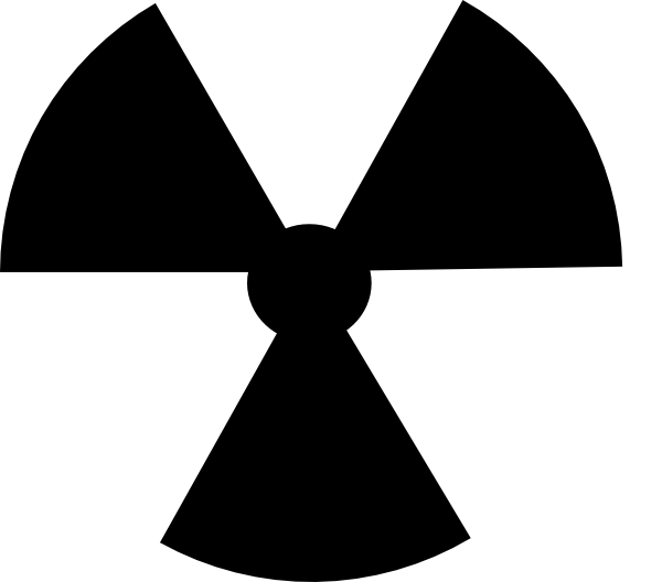 Radioactive Symbol Image clip.