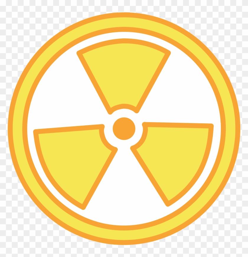 Free Vector Radioactive Warning.