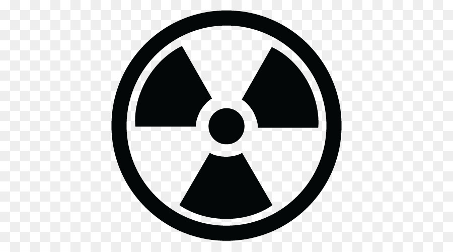 Radiation Symbol png download.