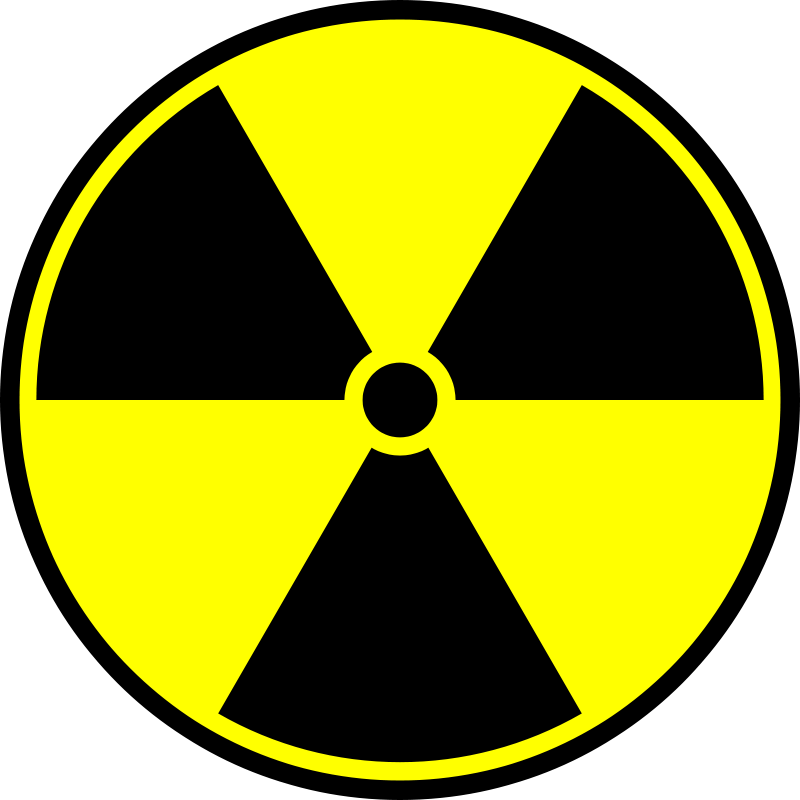 Free Clipart: Radioactive symbol.