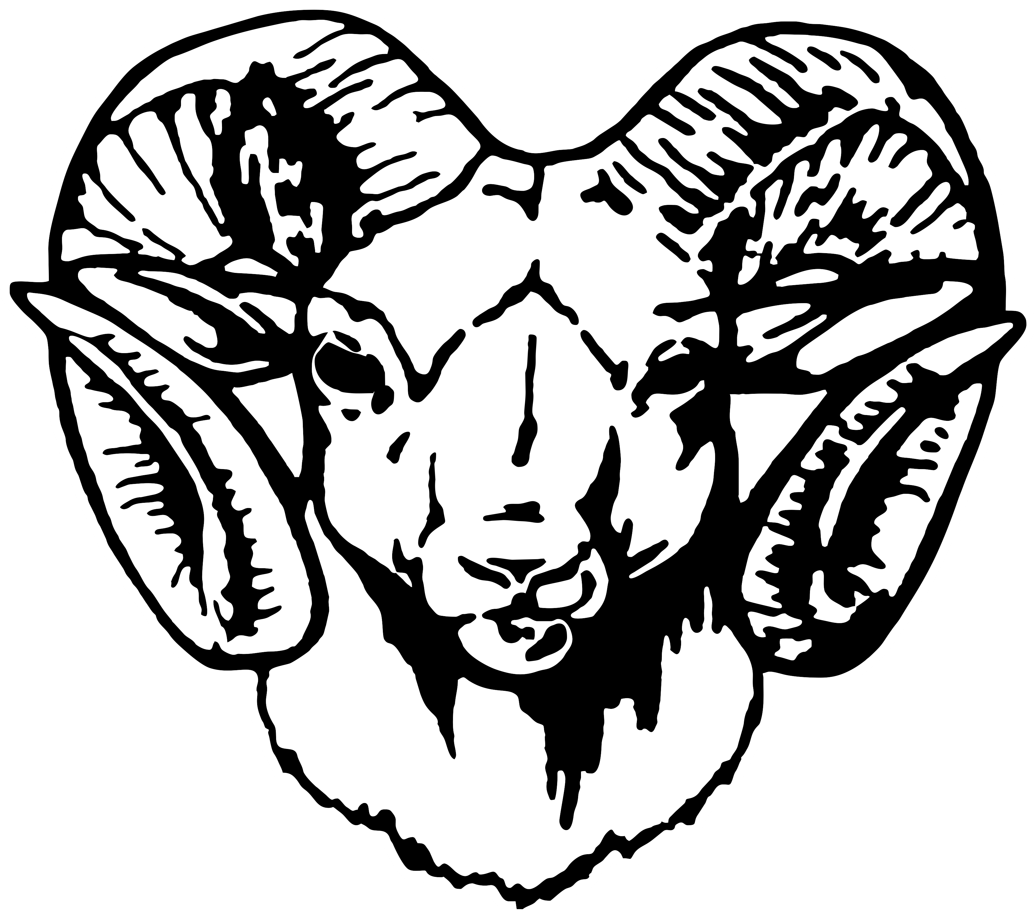 Ram Head PNG Transparent Ram Head.PNG Images..