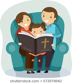Family reading bible clipart 2 » Clipart Portal.