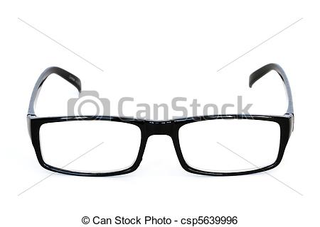 Stock Image of reading glasses.