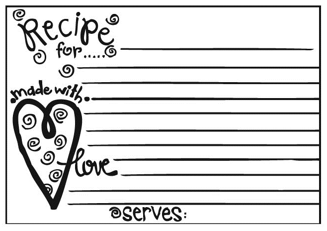 Recipe Card Clipart Group with 77+ items.