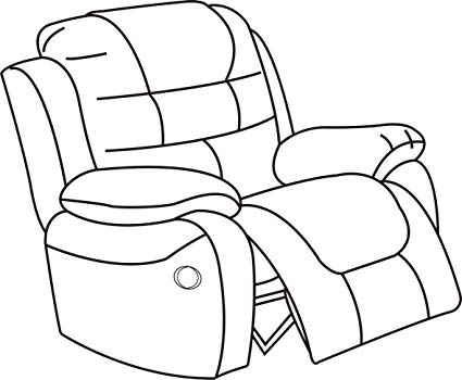 Recliner Drawing.