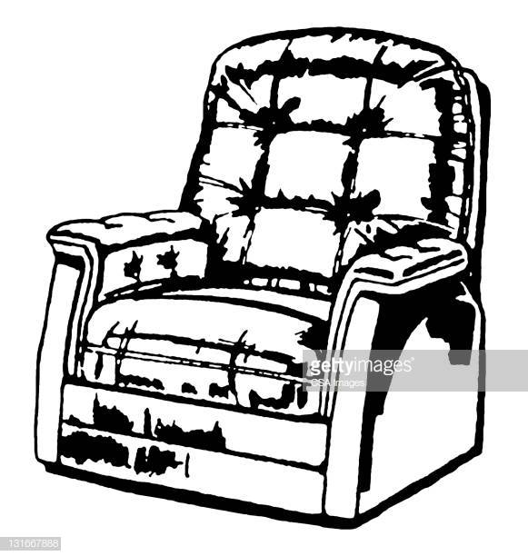 30 Top Reclining Chair Stock Illustrations, Clip art, Cartoons.