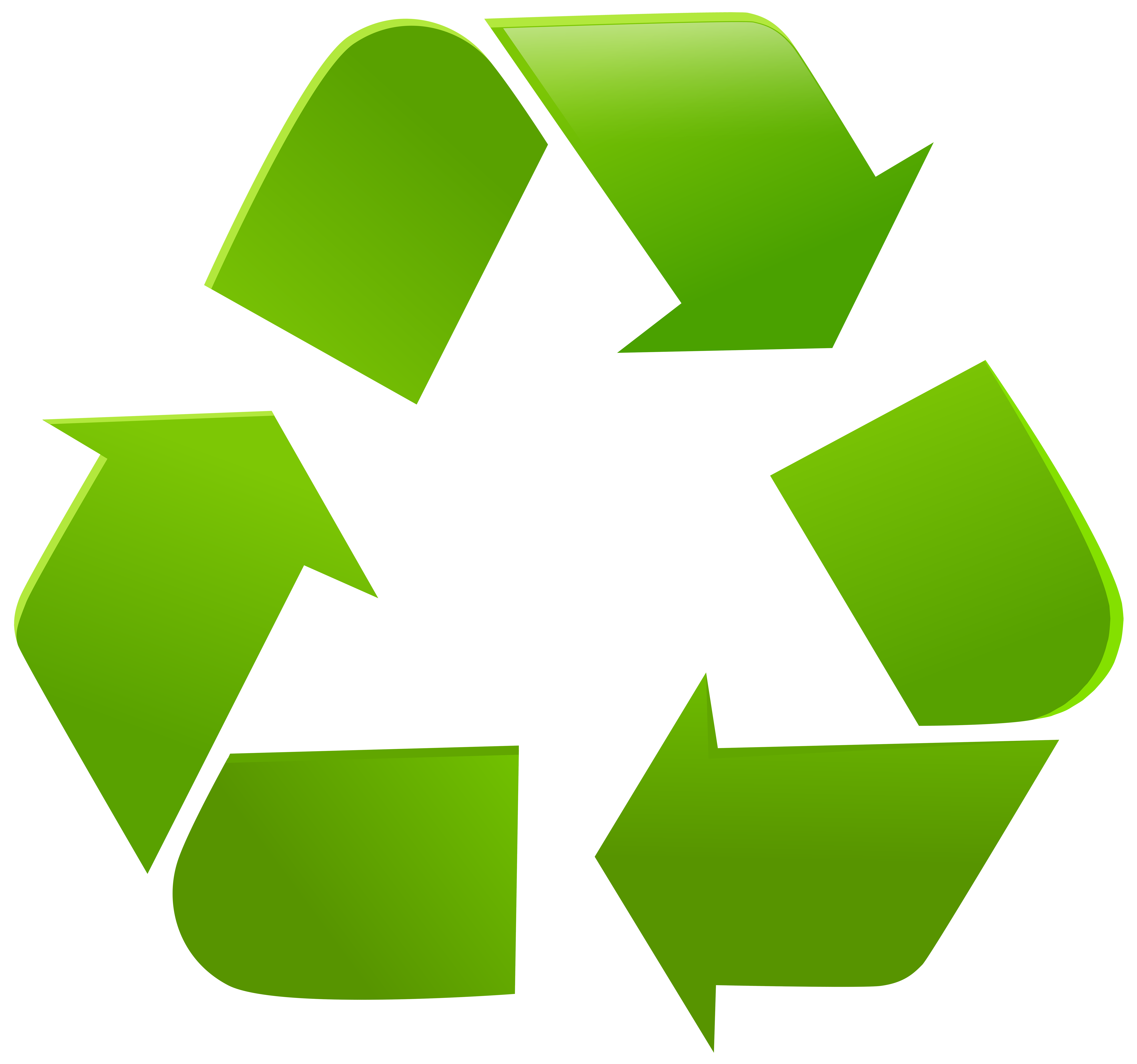 Recycle Symbol PNG Clip Art.