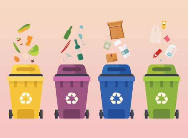 Best Recycling Bin Illustrations, Royalty.