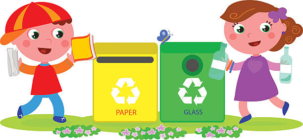 Recycling Cartoon Pictures.