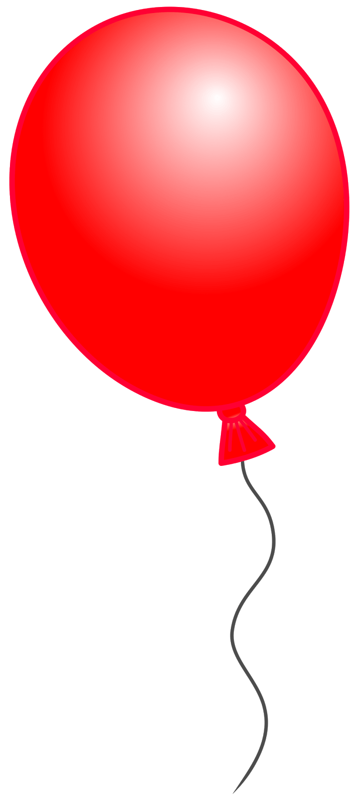 Red Balloon Cliparts.