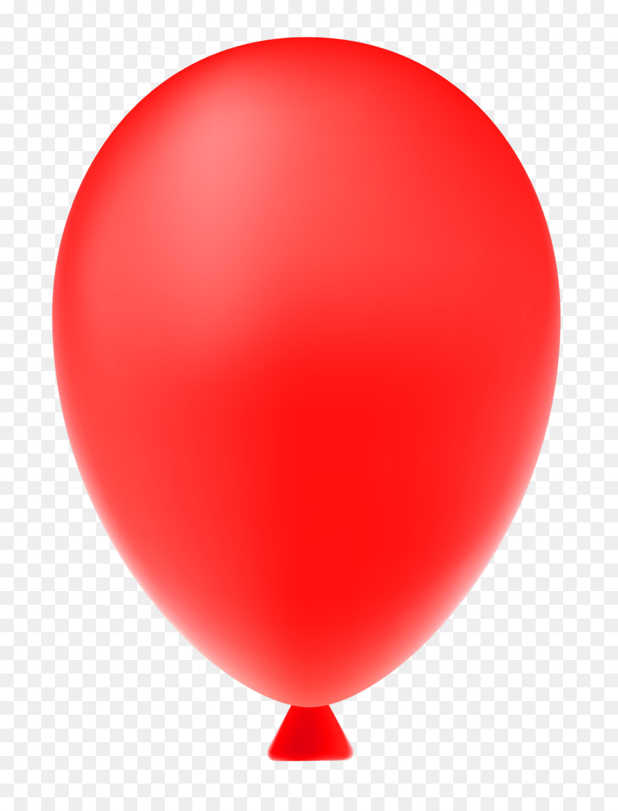 Red Balloon clipart.