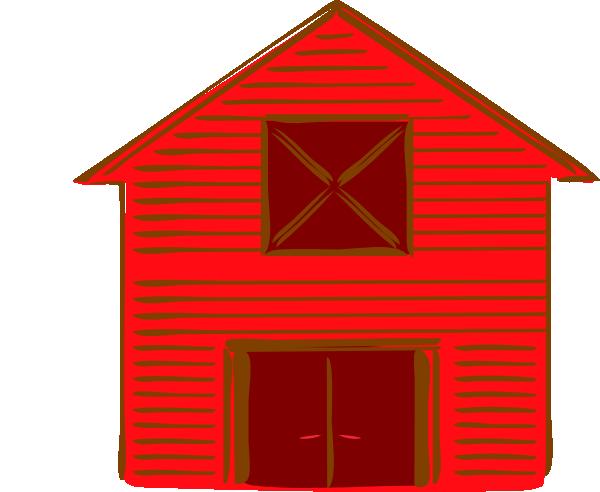 Clip art red barn clipart kid.
