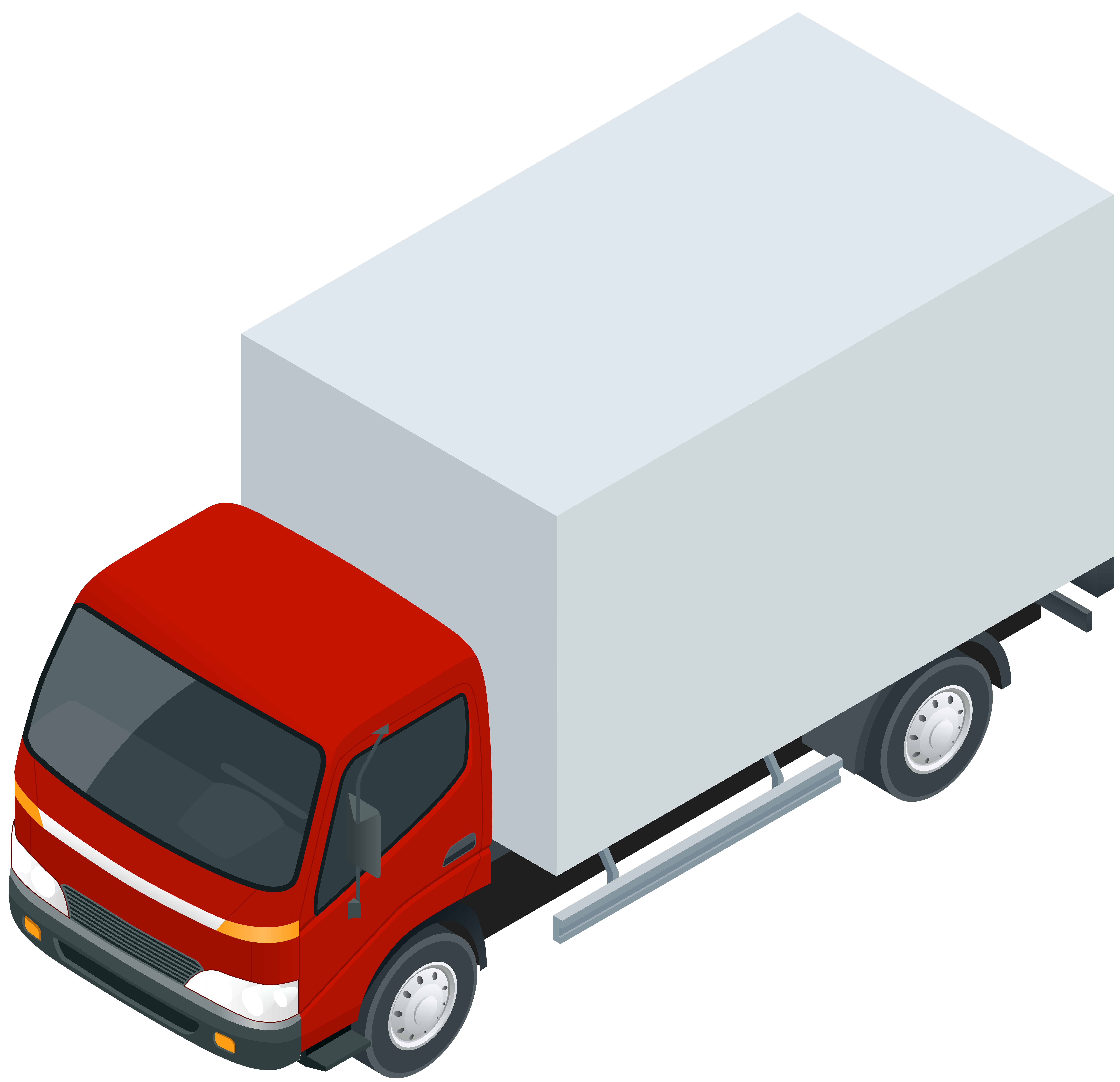 Red Truck PNG Clip Art.