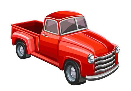 829 Old Red Truck Stock Illustrations, Cliparts And Royalty Free Old.